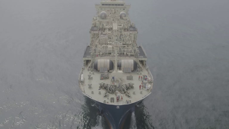 First LNG Bunker Vessel Based in France - Sea Trials